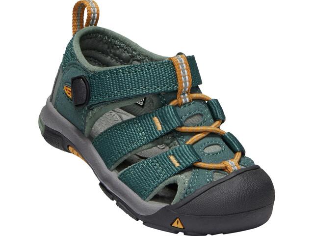 Keen Newport H2 Chaussures Enfant, green gables/wood thrush